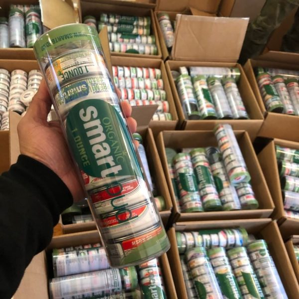Smartbud Cans Weed